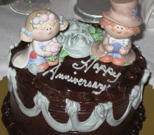 Bumbkin Anniversary Cake