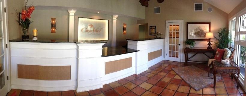 Casa Ybel Resort Reception Area